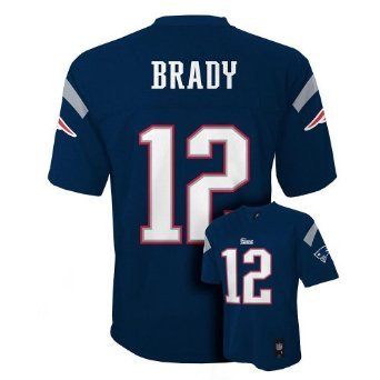 Tom Brady New England Patriots Youth 8-18 20 Navy Jersey by NFL