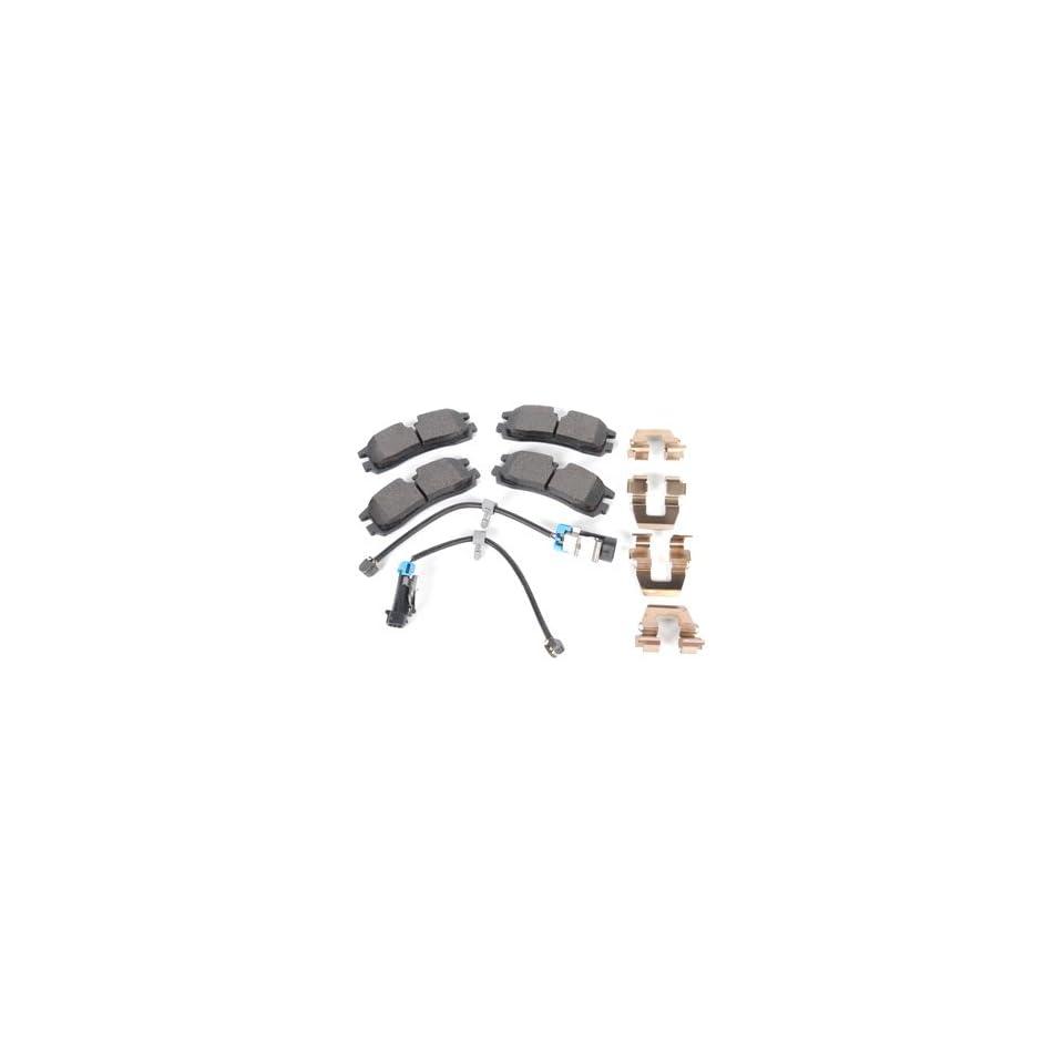ACDelco 171 0880 Rear Brake Disc Pad Kit
