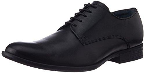 Hush Puppies Men's Pl58 Black Leather Formal Shoes - 6 UK (8246613)