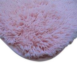 College Plush Rug 5' X 8' Baby Pink