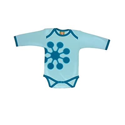 Positively Organic - Earthline LS Snow Bodysuit