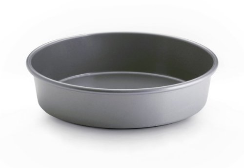 """Bonjour Bakeware Commercial Nonstick 9"""" Round Cake Pan front-180096"""