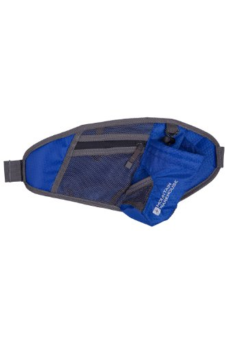 Mountain Warehouse Running Cycling Waist Pack Belt Cobalt One Size front-32660