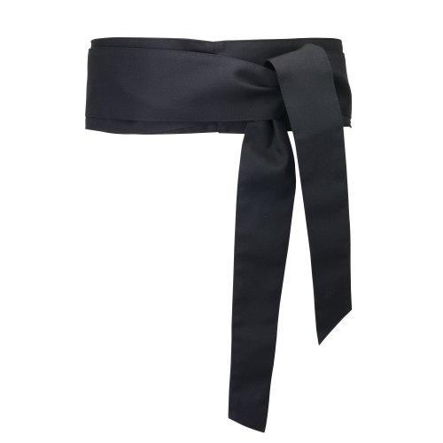Alexandra - Cintura Tipo Fusciacca - Abbigliamento da lavoro (Taglia unica) (Nero)