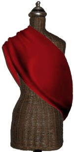 Mamma's Milk Red INVISIBLY ADJUSTABLE Baby Sling