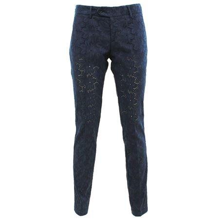 Roy rogers Roxane nycBLU - Pantalone in sangallo Blu 29
