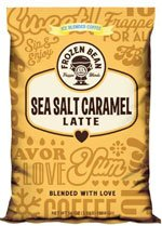 Frozen Bean Salted Caramel Latte Mix 3.5 Lb. Bag