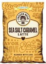 Frozen Bean Salted Caramel Latte Mix 3.5 Lb. Bag