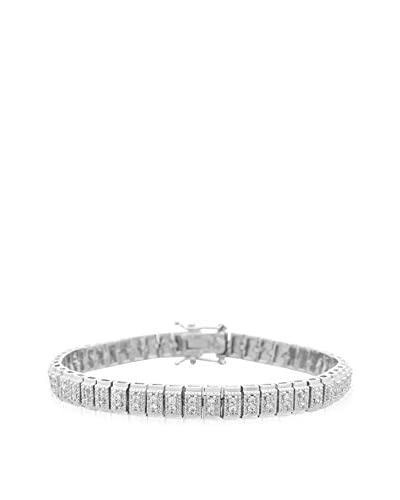 Firefacet Diamonds 1-Cttw. Double-Row Diamond Tennis Bracelet As You See