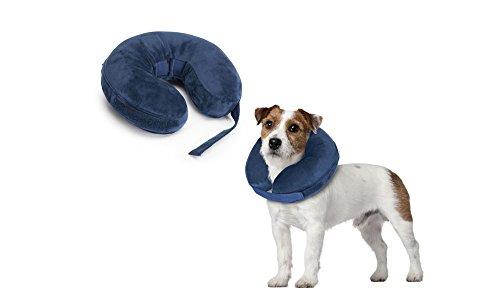 Collare per cani di protezione gonfiabili per colli 33-45cm