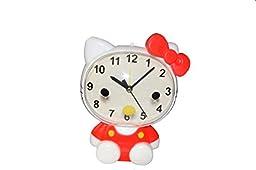 Hello Kitty Alarm Clock Hello Kitty Big Face Tabletop Alarm Clock, HKC6