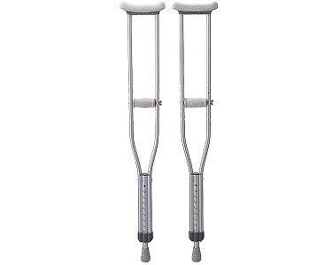 軽量アルミ製松葉杖 (2本1セット)/MS-10L