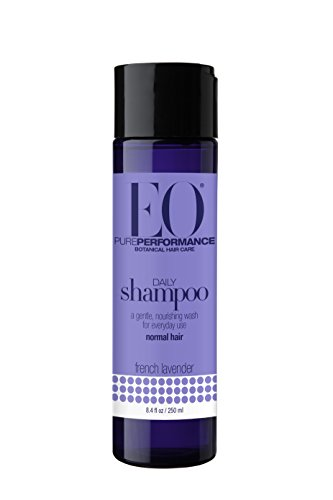 EO Botanical Daily Shampoo for Normal Hair, French Lavender, 8.4 oz (Pack of 3)