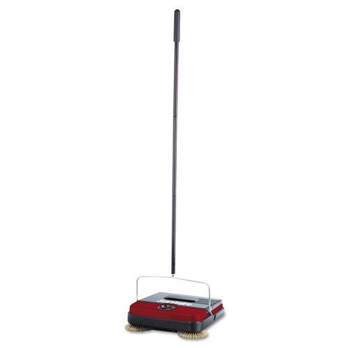 "Electrolux Sanitaire Manual Floor Sweeper, 10"" Path, 12W X 8D X 4H, Steel/Plastic, Black"