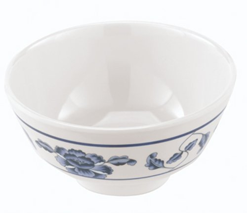 Paderno world cuisine 4 38 inch melamine rice bowl asian for Cuisine melamine