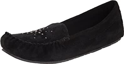 Daniel Green Women's Nikki Moccasin,Black,9 M US