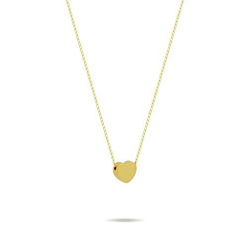 TZARO (Gold Necklace Heart)