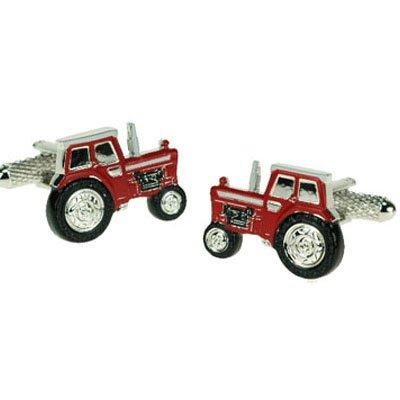 Red Tractor Cufflinks