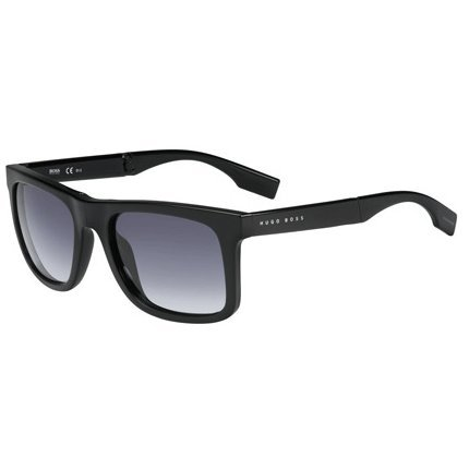 Hugo Boss Sunglasses 0446 D28 Jj Shiny Black Grey Gradient