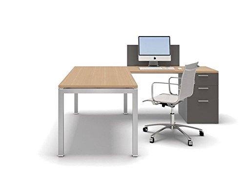 Schreibtisch-mit-Container-Gate-Eckschreibtisch-Winkelschreibtisch-Arbeitszimmer-hochwertige-Brommbel