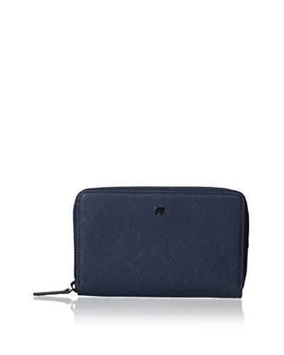 mywalit Women's Medium Zip Around Wallet, Navy