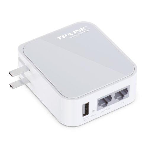 モバイル Wi-Fiルーター(WiFiルーター) 無線ルーター 無線LANルーター 小型 ポケットタイプ コンセント一体型 150Mbps TP-LINK TL-WR710N