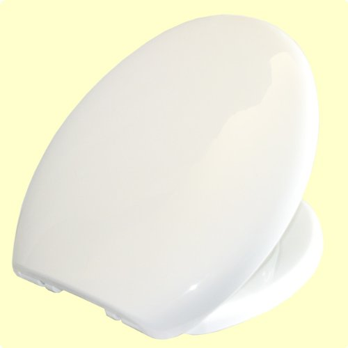 EuroShowers Simple Toilet Seat White - Soft Close 84310