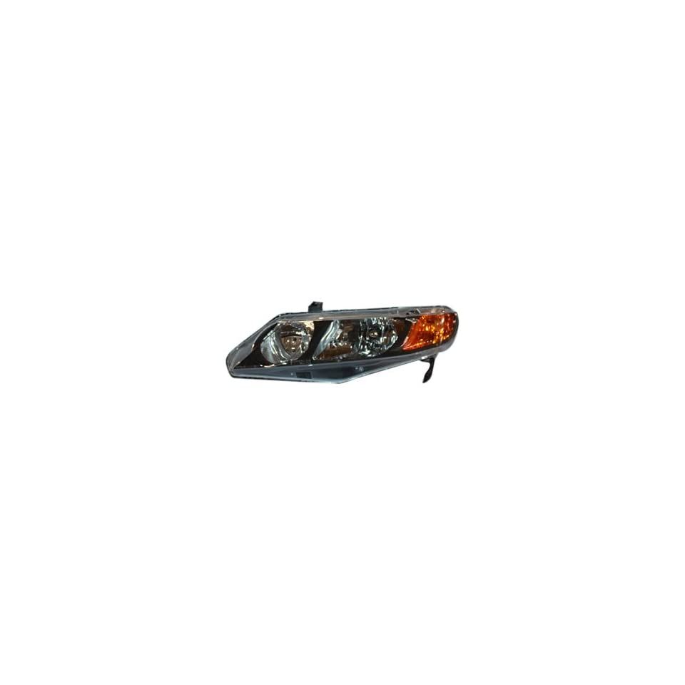 TYC 20 6734 01 Honda Civic Driver Side Headlight Assembly