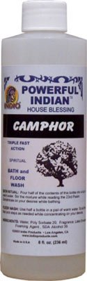 Indio Products Camphor Bath and Floor Wash 8 fl. oz. Camphor Bath