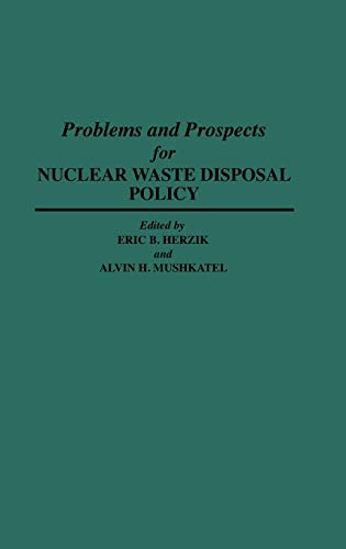 Image for Problems and Prospects for Nuclear Waste Disposal Policy (Discographies)