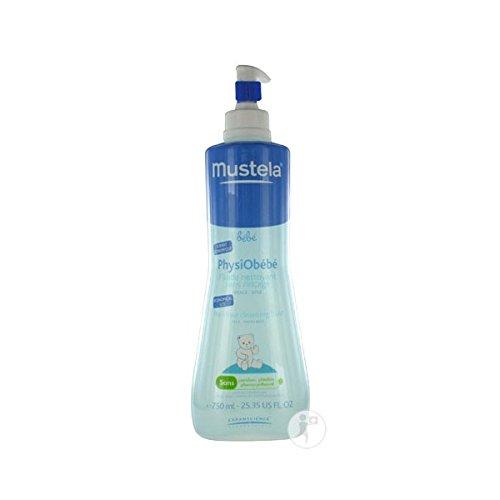 Mustela Physiobébé Fluide Nettoyant Sans Rinçage 750ml