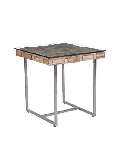 Zuo Collage Side Table, Natural
