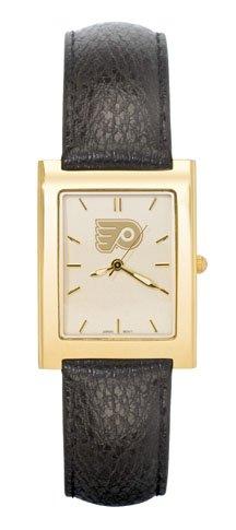 Philadelphia Flyers Men's Gold Rectangular Watch