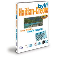 Byki Haitian-Creole Language Tutor Software & Audio Learning CD-ROM for Windows & Mac