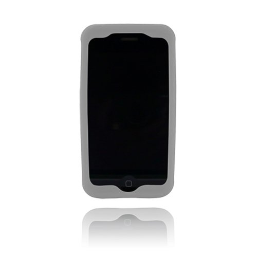 Incipio dermaSHOT Silicone Case for iPhone 3G, 3G S (Gray)