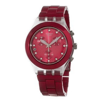 Swatch Full Blooded Raspberry Unisex Watch SVCK4050AG