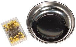 Handy Helpers 4in. Magnetic Pin Bowl w/ Pins