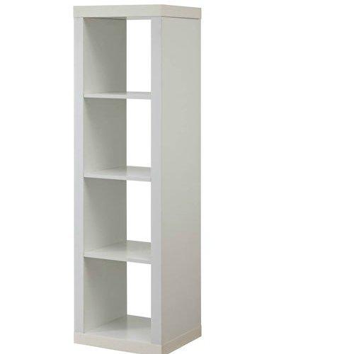 Better Homes And Gardens 4 Cube Organizer Storage Bookcase Bookshelf White