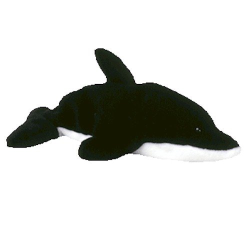 Splash the Orca Whale - Ty Beanie Babies - 1