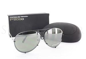 Porsche P8478 D Interchangeable Ruthenium Sunglasses from Porsche Design