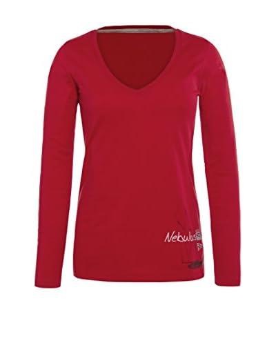 Nebulus Camiseta Manga Larga Virginia Rojo M