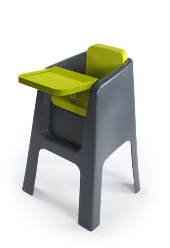Hoppop Trono Highchair (Grey/Lime)