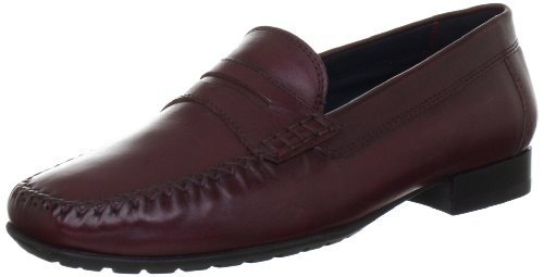 CARANA 51120, Damen Mokkassins, Rot (wine), EU 42 (UK 8)