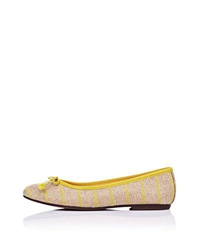 Bisue Ballerina gelb/beige EU 38