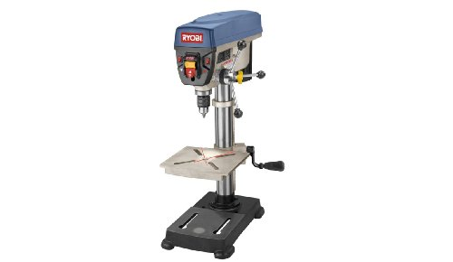 "Learn More About Factory-Reconditioned Ryobi ZRDP102L 10""Drill Press with Laser"