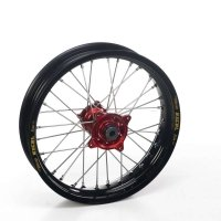 Haan Honda Crf450X Haan Wheels Honda Red Hubs & Black Rims Crf450, 19-2.15 Rear Mx