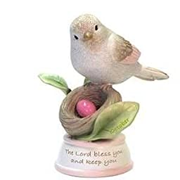 1 X This Is the Day Monthly Birdie ''October'' Figurine By Gregg Gift by Enesco