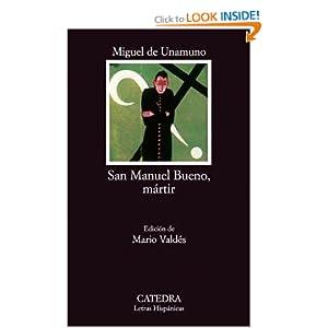 Amazon.com: San Manuel Bueno, Martir (9788437601854): Miguel de