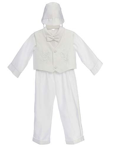 Fine Brand Shop Christening Baby Boy Long Tuxedo Suit, Special occasion suit