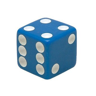 Trick Tops Dice Valve Caps pr. Blue